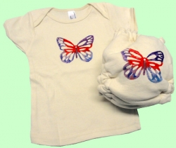 Large Butterfly Organic Set