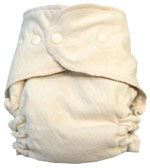 NB/SM Budget-Friendly Traditional Soaker Organic Diaper