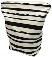 Stripe Print Wet Bag